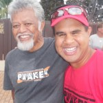 photo of Uncle Bobby and a Makapo paddler