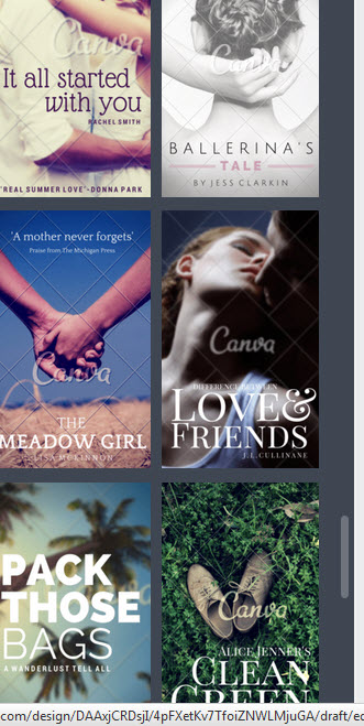 How To Make A Book Cover In Canva : How to make a book cover for using canva