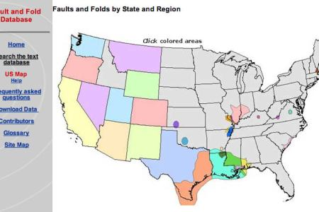 maps united states fault lines submited images.