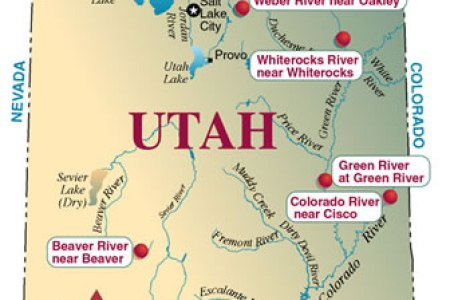 Map Of Utah Mountain Ranges - Us map mountain ranges and rivers