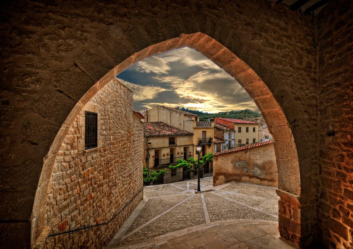 Calaceite, pueblo de Teruel