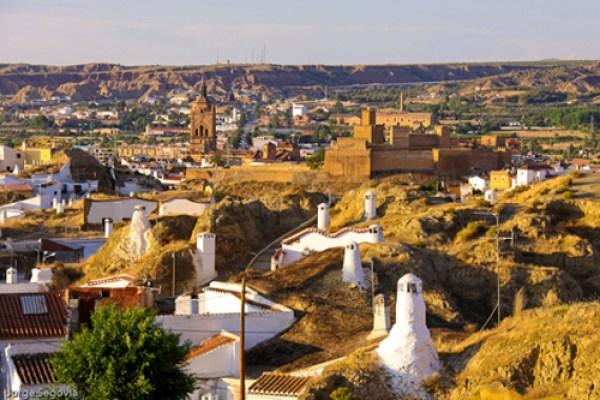 Guadix en Granada, Andaluc�a
