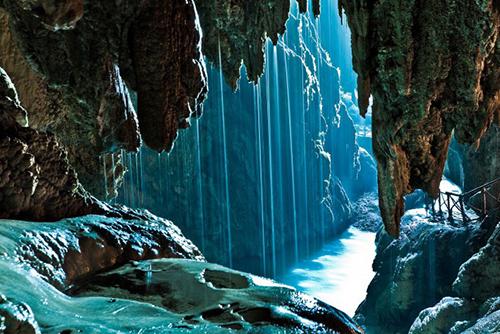 El bello paraje natural del Monasterio de Piedra