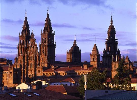 Santiago de Compostela en La Coruña