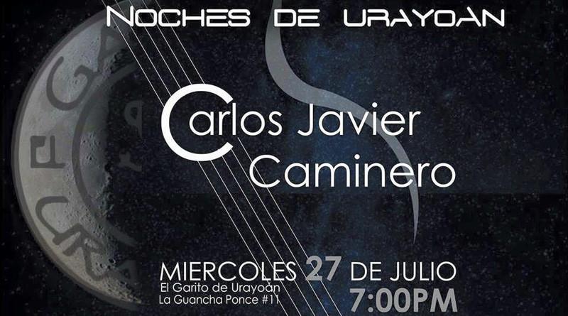 Noches de Urayoan con Carlos Javier Caminero