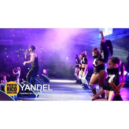 Mayor que yo. Yandel  #chile #movistararena #santiago @yandel @puertoricounder @luiscarmona