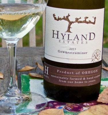 2013 Hyland Estates Gewurztraminer