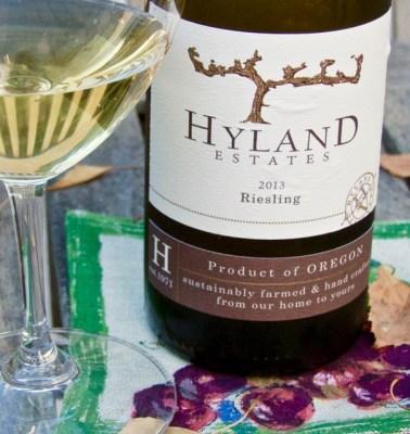 2013 Hyland Estates Riesling