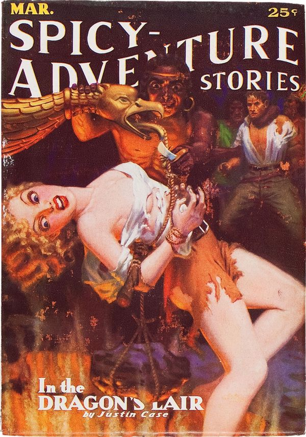 Spicy Adventure Stories - March 1936