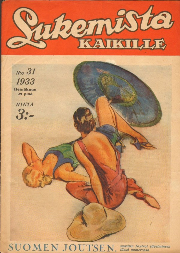 1933 #31 LUKEMISTA KAIKILLE