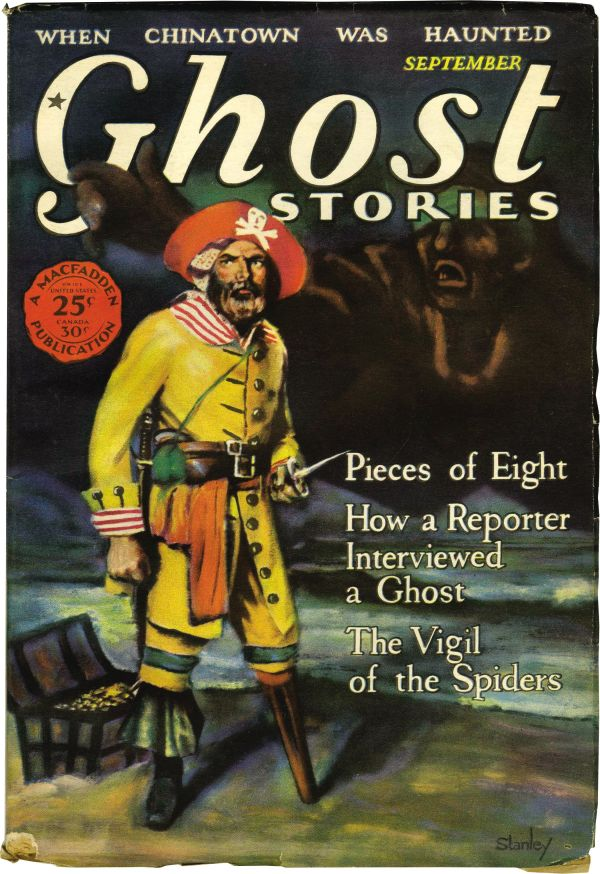 Ghost Stories Pieces of Eight
