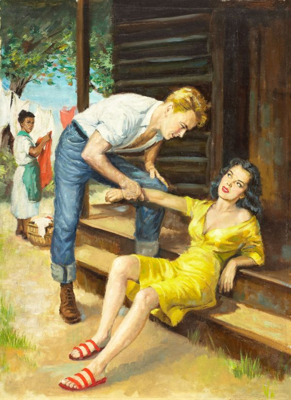 Honey, paperback digest cover, 1953