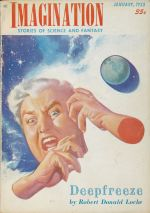 Imagination cover, January 1953