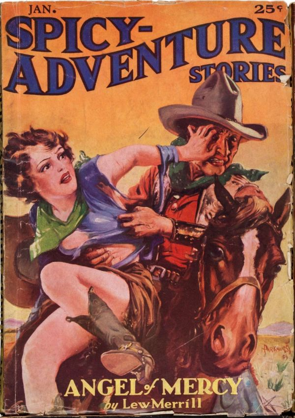 January 1936 -Spicy Adventure -Angel of Mercy