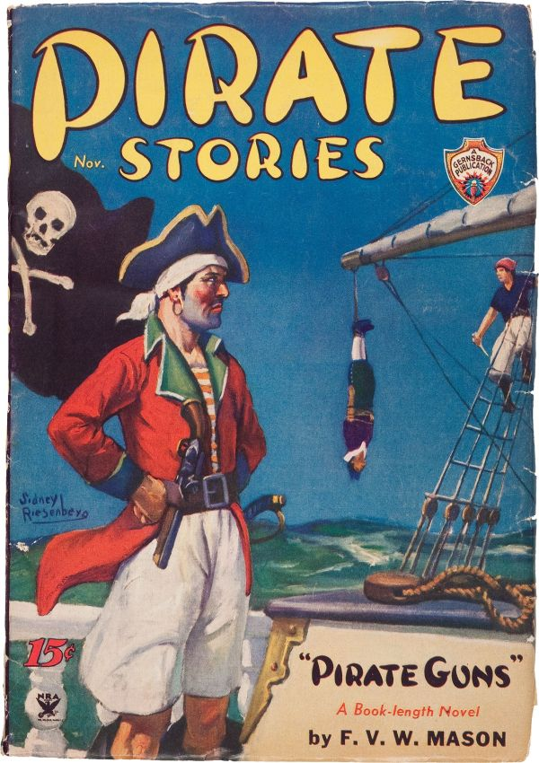 Pirate Stories V1#1 (Adventure Publications, 1934)