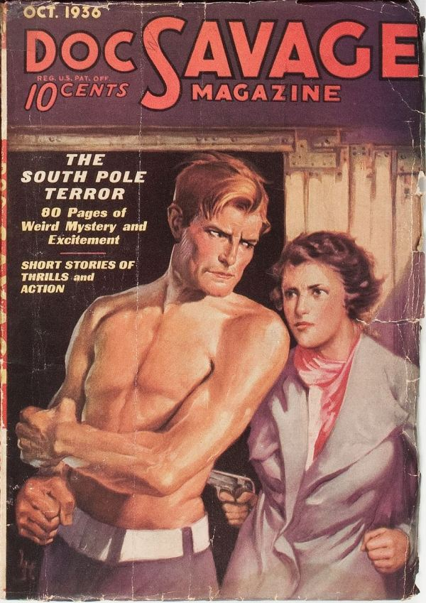 Doc Savage October 1936