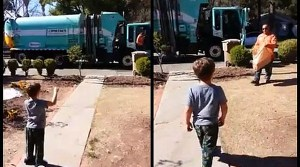 Garbage Truck Driver Surprises Boy With Autism. You Will Love What He Did.