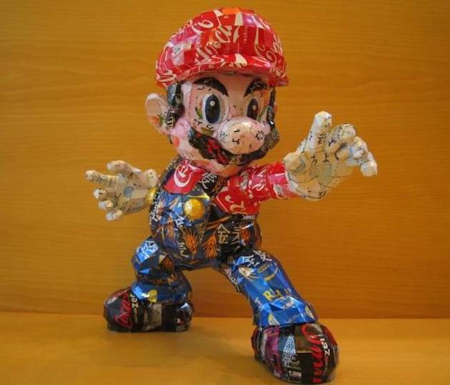 1. Mario from Mario Brothers.