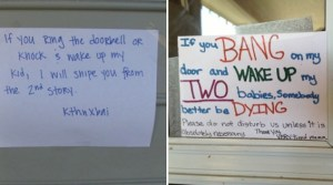 14 Doorbell Sign Ideas That Are Guaranteed to Keep People Away