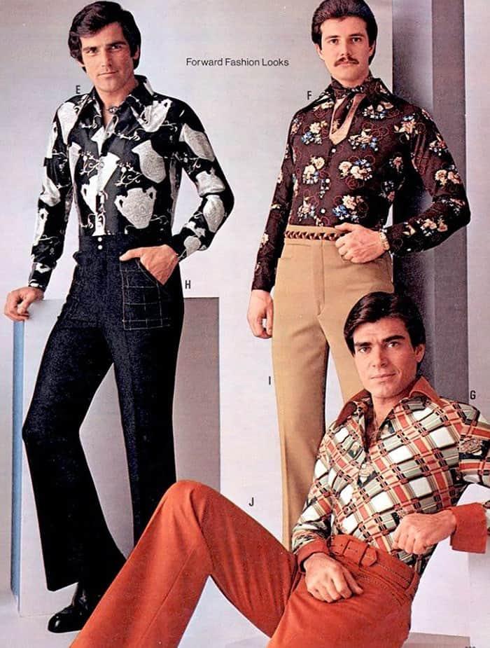 мужская мода, рубашка с принтом