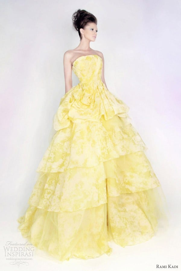 37 fairy tale wedding dresses for the disney obsessed for Rami kadi wedding dresses prices