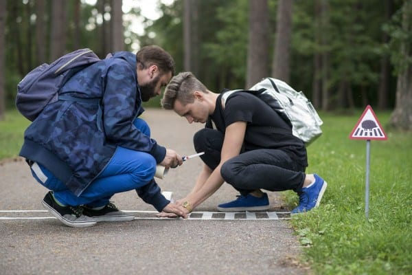 55b943e2ece20 - Hedgehogs, Cats, And Ducks Get Own Tiny Crosswalks In Lithuanian Town Where All Creatures Are Equal