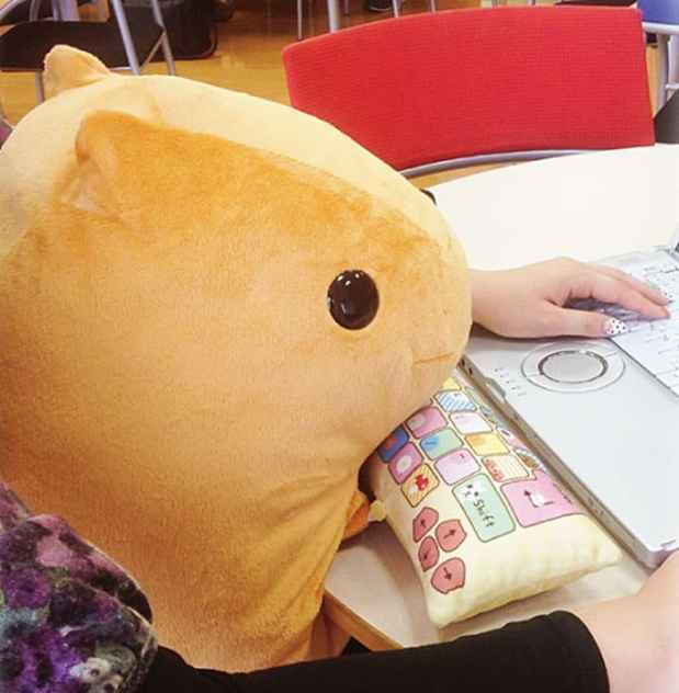 cute pc wrist rest cushion japan 7 - These Lap Cushions Protect Your Wrists And Make For A Cute Desk Buddy