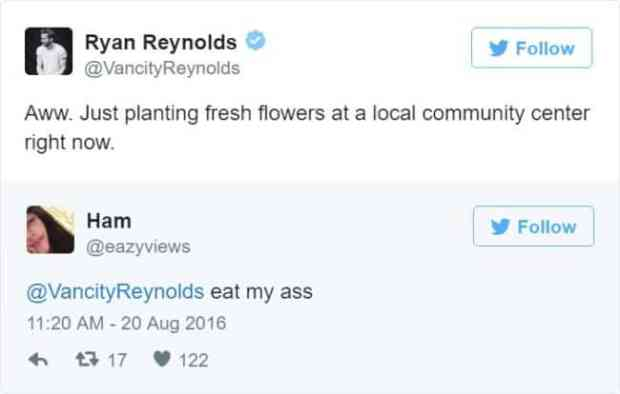 57bd1bc66a8ec - Ryan Reynolds' Ãœber Polite Responses To Horny Fan Tweets Are The Funniest Thing Ever
