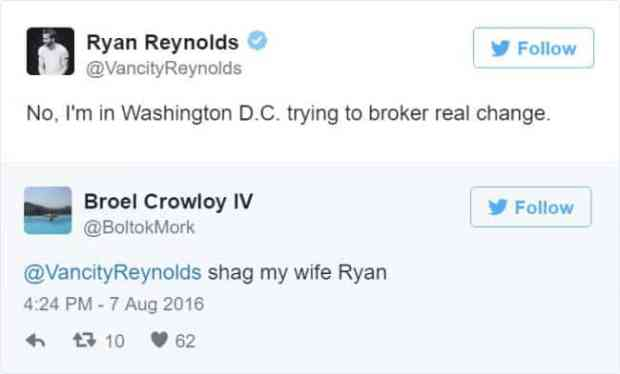 57bd1bc8daee5 - Ryan Reynolds' Ãœber Polite Responses To Horny Fan Tweets Are The Funniest Thing Ever