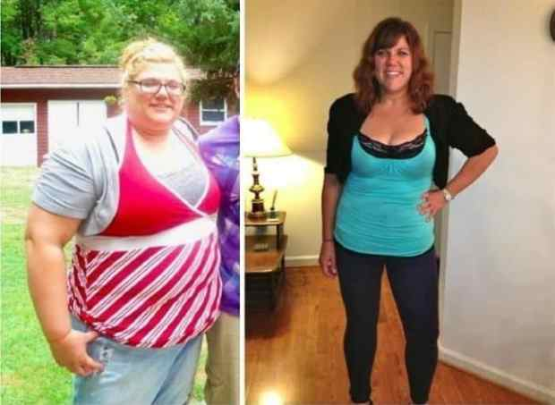 57e8f7ecd16e7 - 15 Amazing Weight Loss Transformations That Prove Nothing Is Impossible