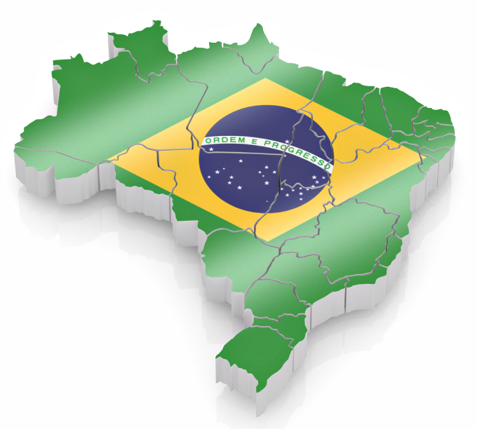 BrazilMapFlag