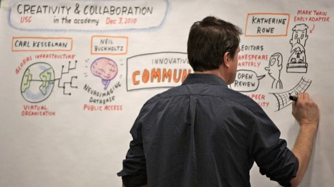 Lloyd Dangle at USC Creativity & Collaboration
