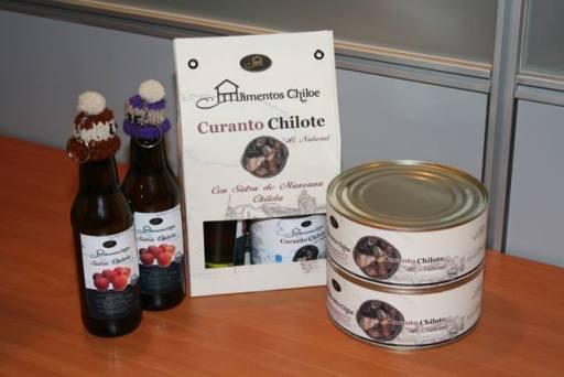 Uno de los ganadores fue el Curando chilote envasado.