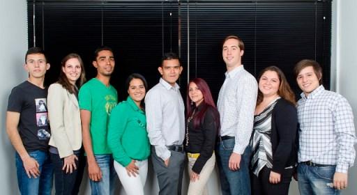 El joven equipo de Seguros Digitales.
