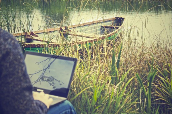 working-outside