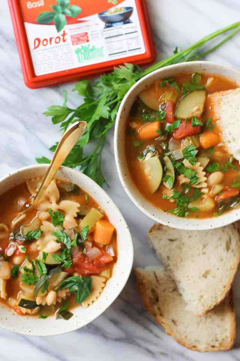 Tuscan Vegetable Pasta Soup