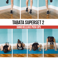 12-Minute Bodyweight Tabata Workout Series: Full Body + Cardio