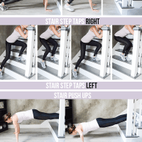 Stair Pyramid Workout