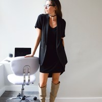Over-the-Knee Boots and Working from Home