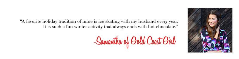Samantha of Gold Coast Girl Blog - Holiday Traditions
