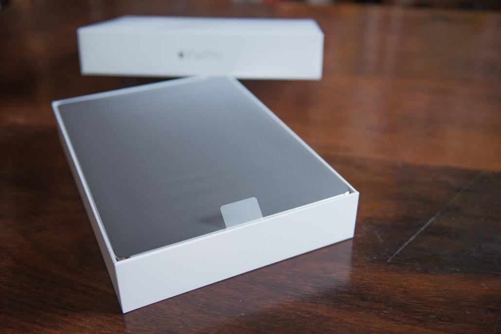 Geöffnete Schachtel iPad Pro © Martin Skopal