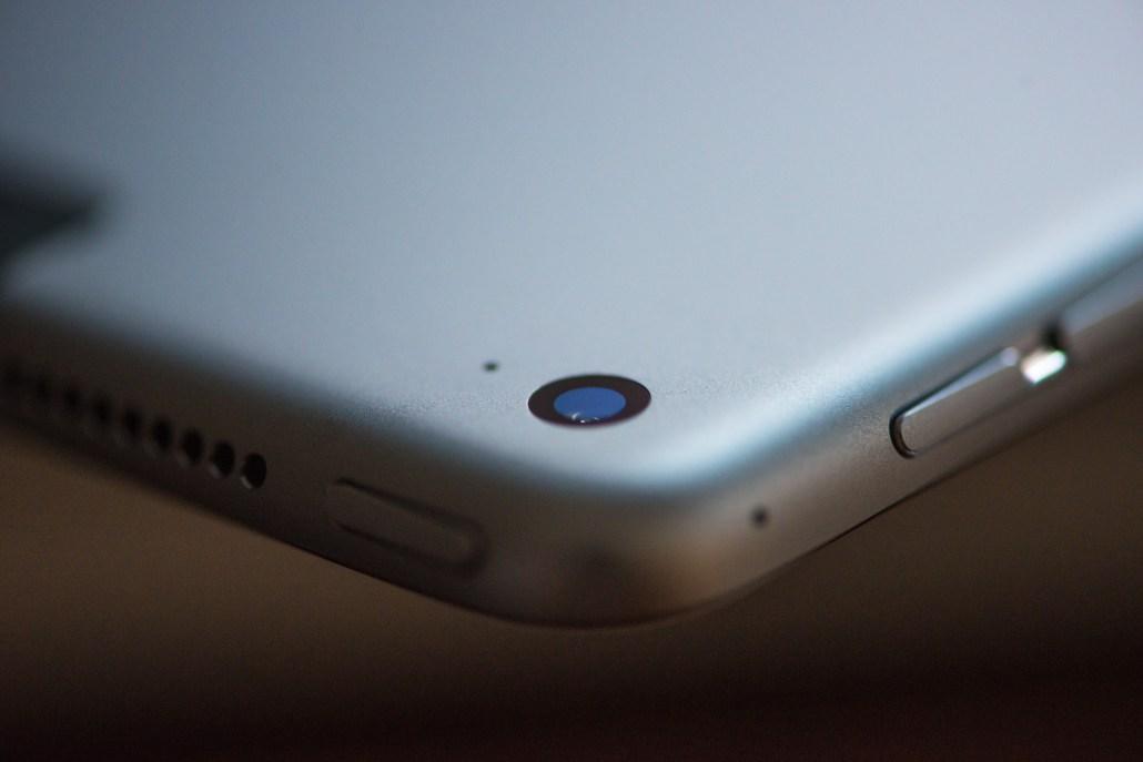 Kamera und Hardware-Tasten am iPad Pro © Martin Skopal