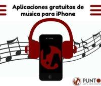 Aplicaciones gratuitas de música para iPhone