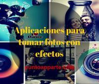 Aplicaciones para tomar fotos con efectos