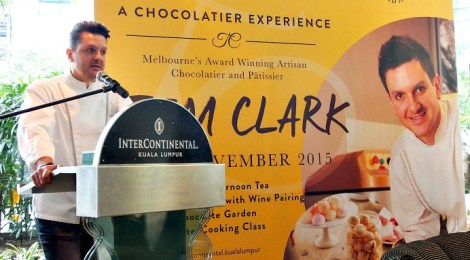 Artisanal Afternoon Tea with Master Pastry Chef TIM CLARK @ INTERCONTINENTAL KUALA LUMPUR