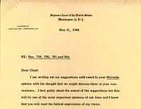 June 13 –  In 1966, the Supreme Court issued its landmark Miranda vs. Arizona decision…