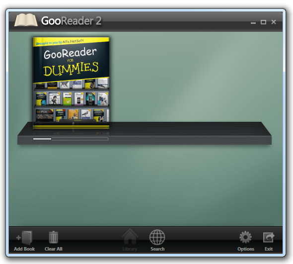 Windows program GoodReader 2 to read Google books