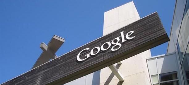 Google Building Sign