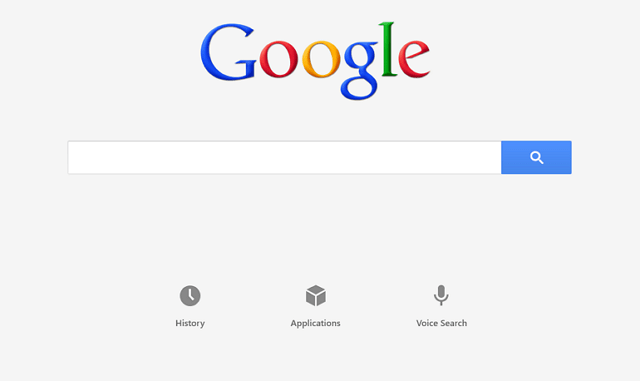 Windows 8 Google Search app