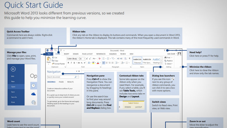 Office 2013 guide